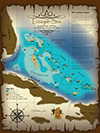 Bahamas Lucayan Map