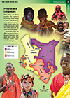 Kenya Peoples and Language  Map