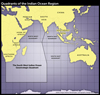 Quadrants of the Indian Ocean