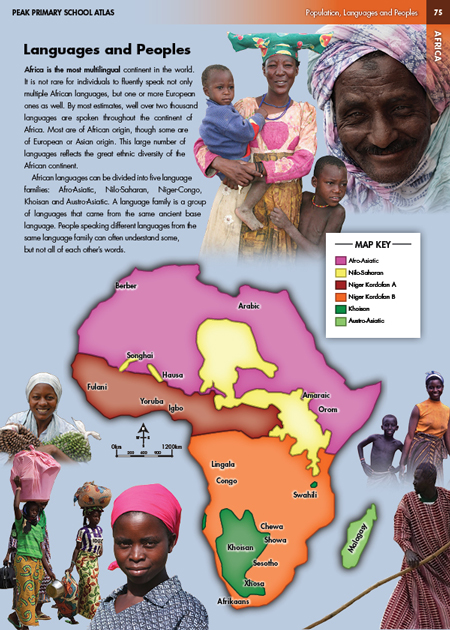 Eric Olason :: Cartographic Artist :: Peoples and Languages of Africa