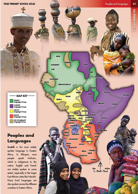 Eric Olason :: Cartographic Artist :: Peoples of East Africa Photo