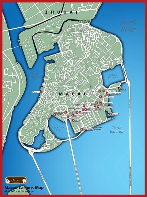 Macau map casino gambling relapse rates